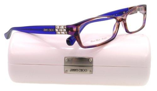 amazoncom jimmy choo eyeglasses jc 41 blue ecw jc41 jimmy choo clothing
