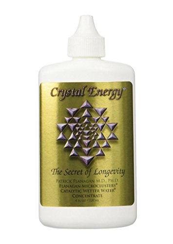 - Crystal Energy (4oz.) By Dr. Patrick Flanagan - Revolutionary Liquid Technology Water Treatment