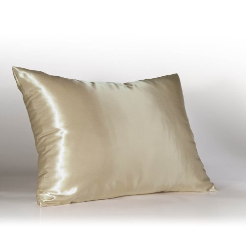 Betty Dain Satin Pillowcase (Sweet Dreams - Blissford 2-Pack Luxury Satin Pillowcase with Zipper, Standard Size, Champagne (Silky Satin Pillow Case for Hair) By Shop Bedding)