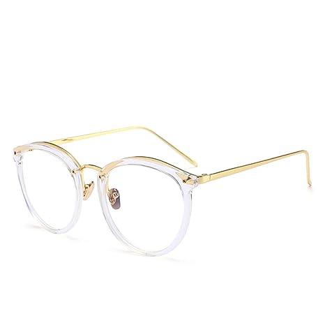 Yangjing-hl Linda Faro antirretro Caja Grande Gafas de ...