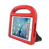 New iPad 9.7 Inch 2017 / iPad Air 2 / iPad Air Case, Ubearkk Kids Friendly Light Weight Shock Proof Convertible Handle Stand Cover for Apple New iPad 9.7' 2017 Model, iPad Air 2, iPad Air (Red)