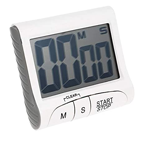 PTICA LCD Digital Kitchen Timer Alarm Clock Cooking Count ...