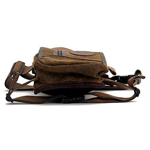 Fashion Quality Waterproof Canvas Waist Bag Casual Travel Men Motorcycle Leg Fanny Pack 4 Colour