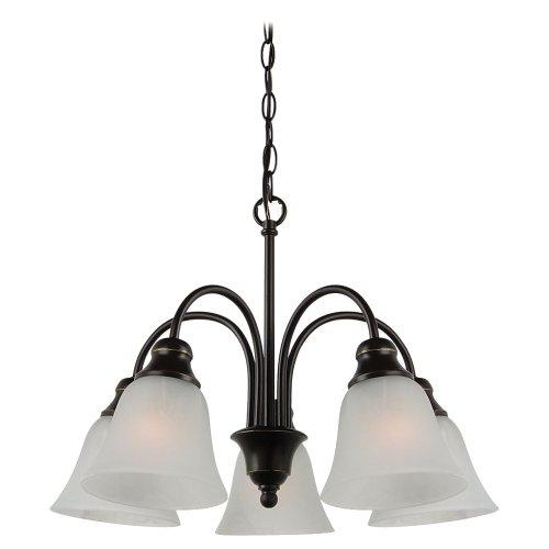 Sea Gull Lighting 35950782 5-Light Windgate Downlight (5 Light Downlight Chandelier)