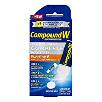 Compound W Complete Wart Kit | Freeze Off Plantar Wart Removal | 15 Treatments