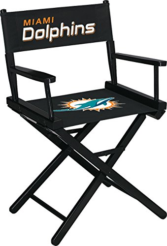 Imperial Officially Licensed NFL Merchandise: Directors Chair (Short, Table Height), Miami Dolphins