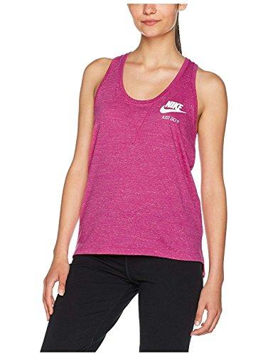 Vintage Sports Shirts - Nike Womens Gym Vintage Tank Top Sport Fuchsia/Sail 883735-607 Size Medium