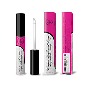 """Eyelash Growth Serum,""""Wonder Lash and Brow"""" by Brazen Babe-Scientifically Proven, Natural Eyelash Serum-Thickens & Lengthens-Great for Both Lashes and Brows"""