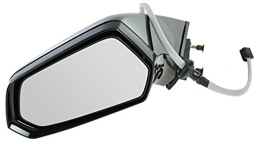 Power Side View Mirror Driver Side Left Hand LH for 10-13 Chevy Camaro