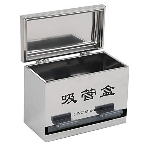 (Echaprey Stainless Steel Pencil Dispenser/Straw Dispenser/Chopsticks Dispenser,for Bulk Pencil Storage/Bulk Unwrapped Drinking Straws)
