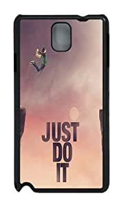 Samsung Note 3 Case,VUTTOO Stylish Just Do It Jump Cliff Hard Case For Samsung Galaxy Note 3 / N9000 / Note3 - PC Black