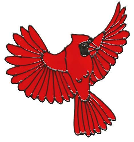 Cardinal Flying Window Cling