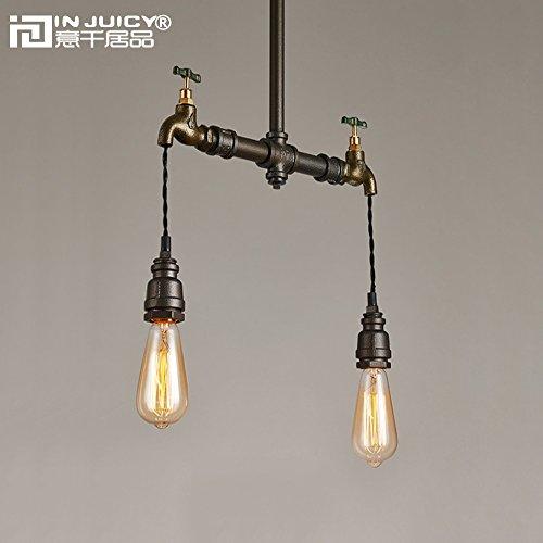 Copper Pipe Pendant Light in US - 8