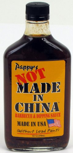(Bourbon Q Pappy's Not Made in China Barbecue Sauce)
