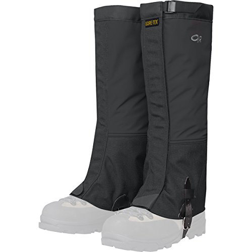 's Crocodile Gaiters, Black, Large ()