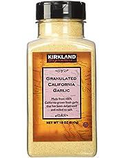 Kirkland Signature California Granulated Garlic 18 Oz, 18 Ounces, 1.12 Pound (Pack of 1)