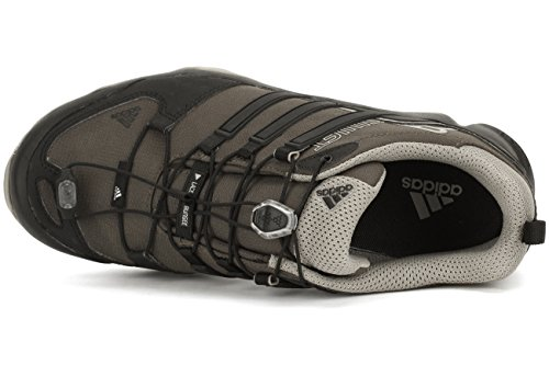 Adidas Terrex al aire libre Swift R Senderos de zapatos - Negro / Gris Vista / blanco 6 Umber/Black/Tech Beige
