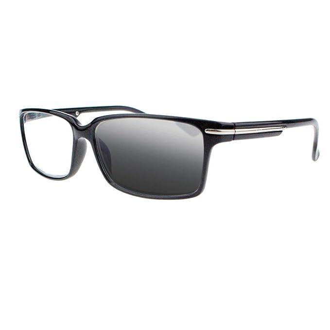 Amazon.com: Gafas de lectura fotocromáticas para hombre con ...