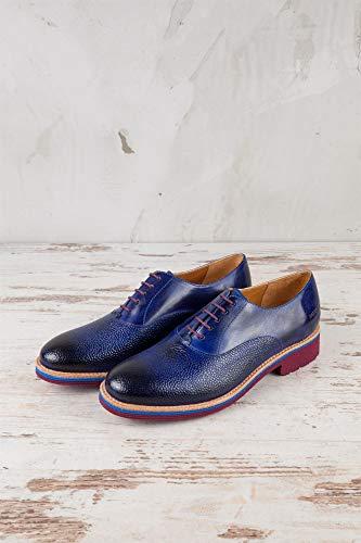 598 Bleu Femme Bleu MH15 Melvin de pour EU à Chaussures Hamilton Ville amp; 37 Lacets 1qUv7t