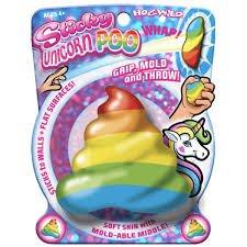 Hog Wild Sticky Unicorn Poo Rainbow Ball (Play Unicorn Stick)