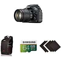 Nikon D810 FX-format Digital SLR w/ 24-120mm f/4G ED VR Lens w/ AmaoznBasics Accessories