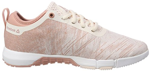 de Reebok Pale Pink Silver para Rosa White Speed TR Deporte Her Chalk 000 Zapatillas Pink Mujer qIzIwrA