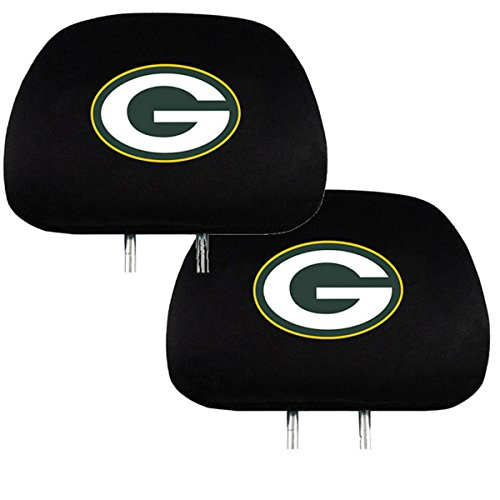 packers head rest covers green bay packers head rest covers packers head rest covers. Black Bedroom Furniture Sets. Home Design Ideas