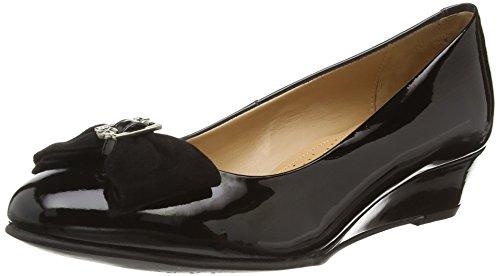 Van Dal Marion - punta cerrada de cuero mujer negro - negro
