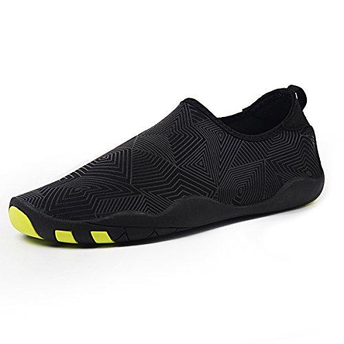 Shoes Aqua Quick Water for Socks Womens Aerobics Shoes Pool Dry Jh Water Beach black Swim Surf Mens Shoes Yoga ww8q4CP
