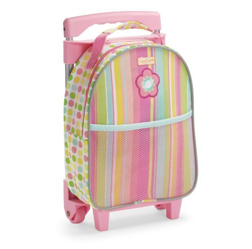 Manhattan Toy Baby Stella Wheel-a-Round Doll Carrier and Suitcase Accessory (Stella Plastic Doll)