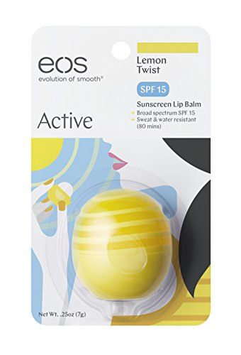 Price comparison product image EOS Active Protection Lip Balm, Lemon Twist 0.25 oz