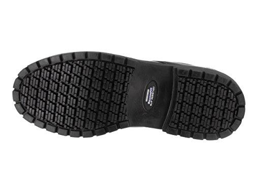 Skechers Cottonwood Capron Heren Stalen Neus Werkschoenen Zwart