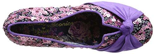 Irregular Choice Dazzle Pants - Tacones Mujer Rosa (Pink)