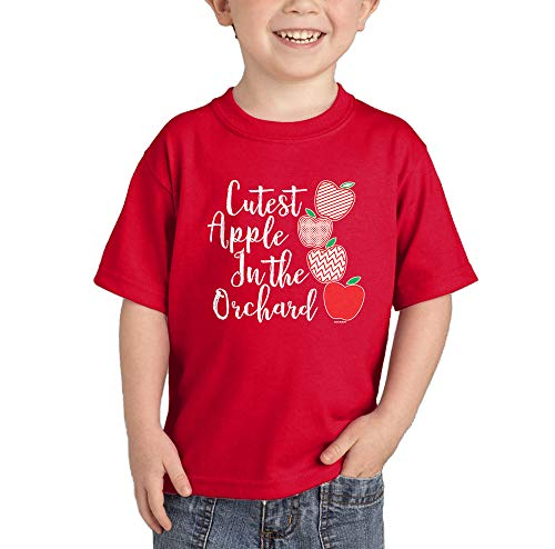 Cutest Apple in The Orchard T-Shirt (Red, 12 Months)