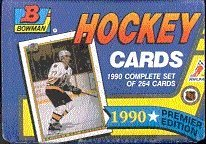 1990-91 Bowman Hockey Complete Factory Set 264 Cards Belfour Modano & Richter Rookies