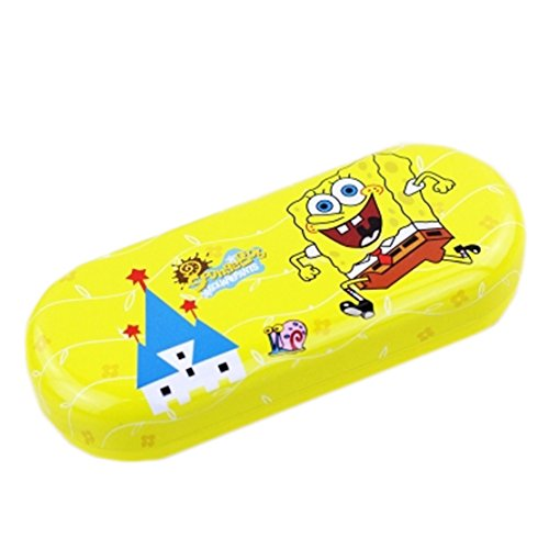 Spongebob With Glasses (Cartoon SpongeBob Myopia Glasses Case/ Eyeglasses Spectacles Box (SpongeBob))