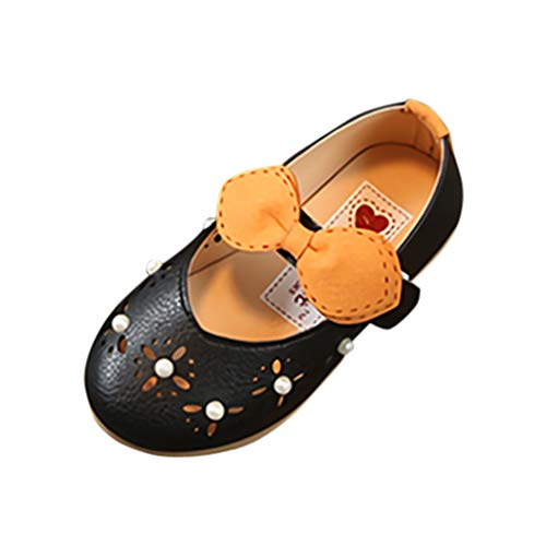 Baby Girl Shoes Miuye Little Kid Toddler Infant Kids Baby Girls Pearl Hollow Out Single Princess Shoes Sandals Black