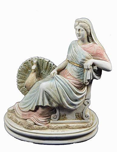 Estia Creations Hera Sculpture Ancient Greek Goddess of Women Statue Artifact