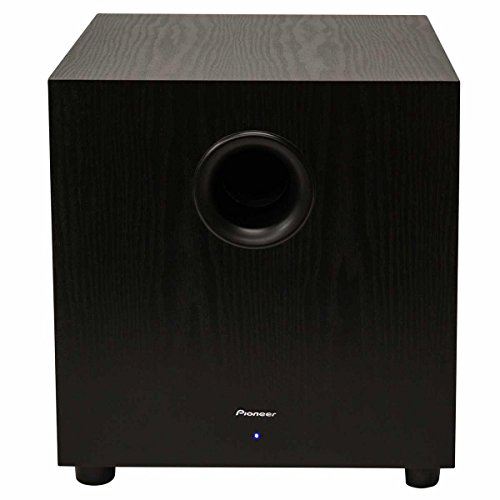 Pioneer SW-10 400W Powered Subwoofer, Black