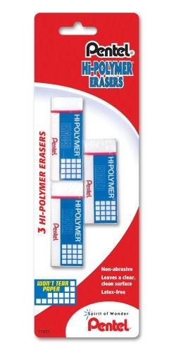 Pentel Hi Polymer Block Eraser ZEH05BP2F