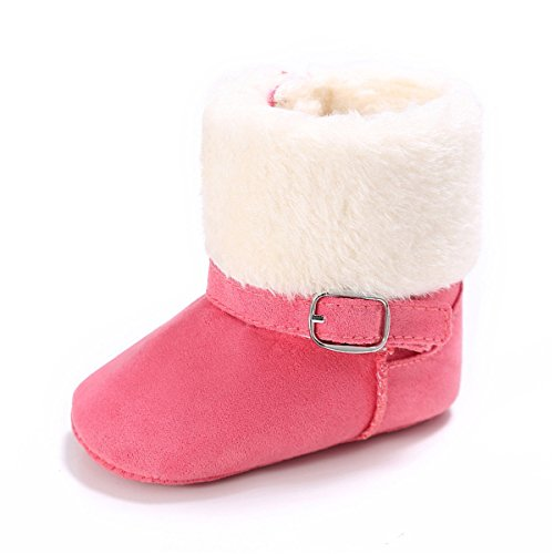 BENHERO Infant Baby Boys Girls Boots Premium Soft Sole Anti-Slip Warm Winter Snow Boots Newborn Crib Shoes