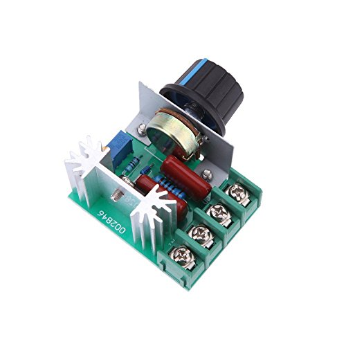 2000W AC50-220V SCR High-power Electronic Voltage Regulator Module - 1