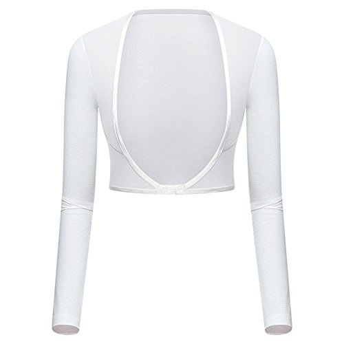 Women's Golf Cooling Shawl Golf Capes Outdoor Sun Protection Arm Sleeves (XL, White) ()