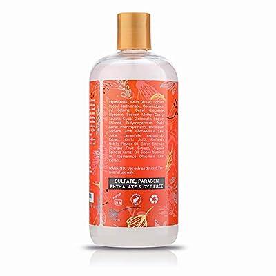 Sulfate Free Citrus Blast Bubble Bath Soak & Wash. Hypoallergenic & Gentle.Kids Calming Bubble Bath to Soothe & Relax. Huge 16.9 oz Organic Bath Foam for Entire Family!