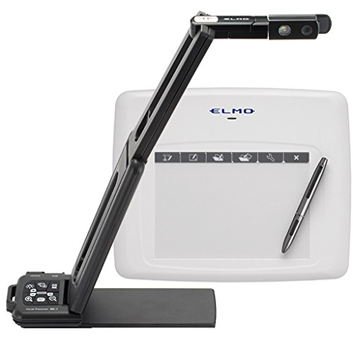 ELMO 4K Document Camera MX-1, Lightweight, Flexible, Quick Navigation and Magnetic Buttons, Output Expansion Box, Powered by USB 3.0 by Elmo (Image #3)