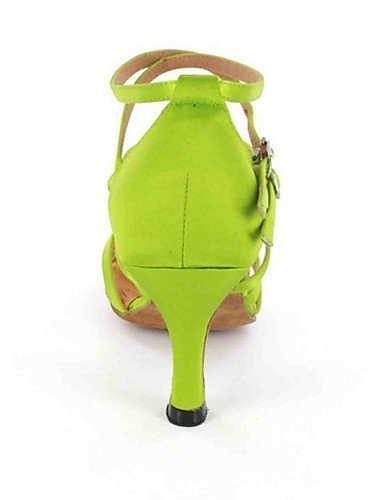 ShangYi Chaussures de danse(Noir / Vert / Rouge / Gris / Autre) -Personnalisables-Talon Personnalisé-Similicuir-Latine , black-us6 / eu36 / uk4 / cn36 , black-us6 / eu36 / uk4 / cn36