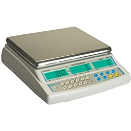 Adam Equipment CBC Counting Scale, 8lb/4kg Capacity and 0.0002lb/0.1g Readability