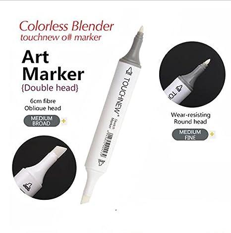 touthnew 0 # marcadores incoloro licuadora doub cabeza Sketch Art ...