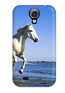 Galaxy S4 Case, Premium Protective Case With Awesome Look - Horse
