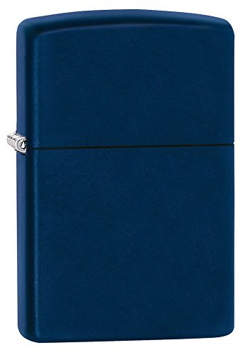 Navy Matte Lighter - Zippo Navy Matte Pocket Lighter